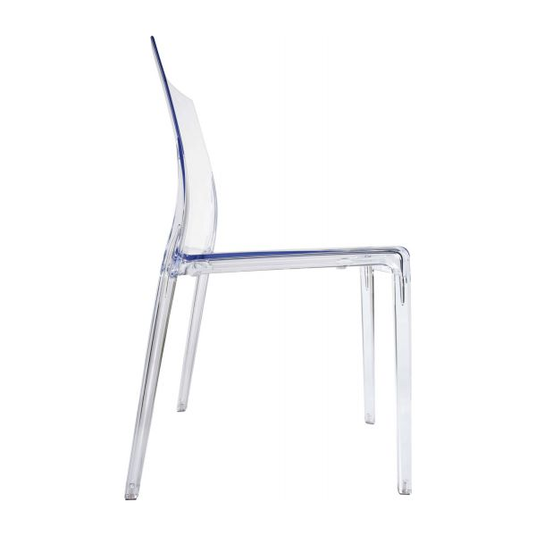 Mamamia chaises de salle manger transparent plastique for Chaise en polycarbonate