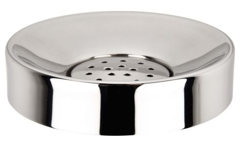 Soap dish in stainless steel
