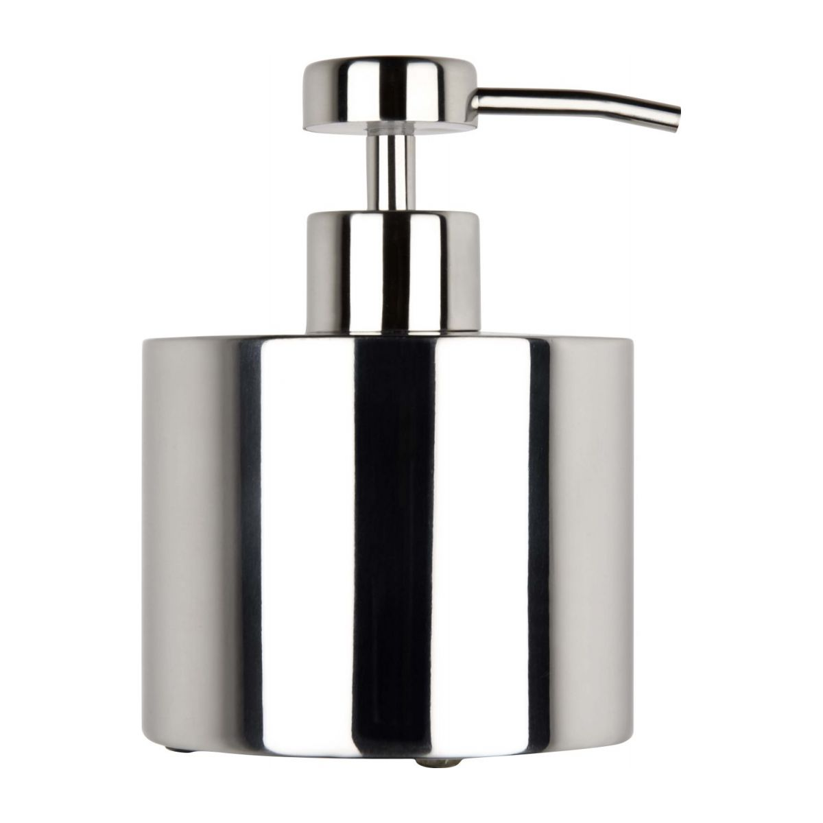 Soap dispenser in stainless steel n°3