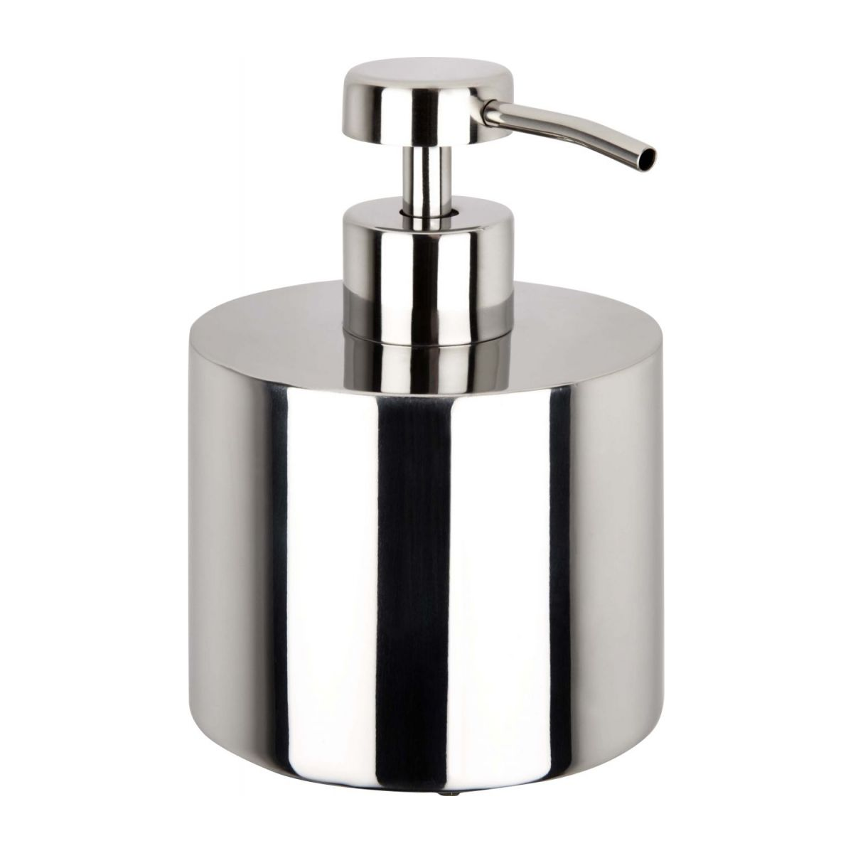 Soap dispenser in stainless steel n°1