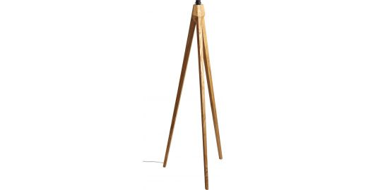 tripod leuchtenfu aus holz habitat. Black Bedroom Furniture Sets. Home Design Ideas