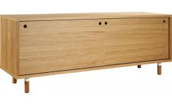 Low sideboard in wood
