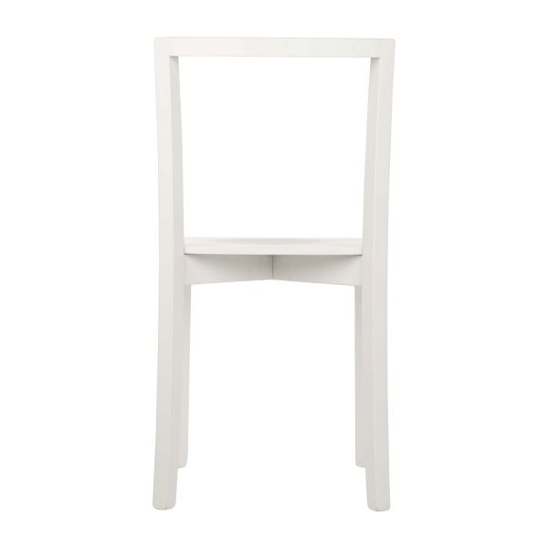 dewey chaises de salle manger blanc bois habitat. Black Bedroom Furniture Sets. Home Design Ideas