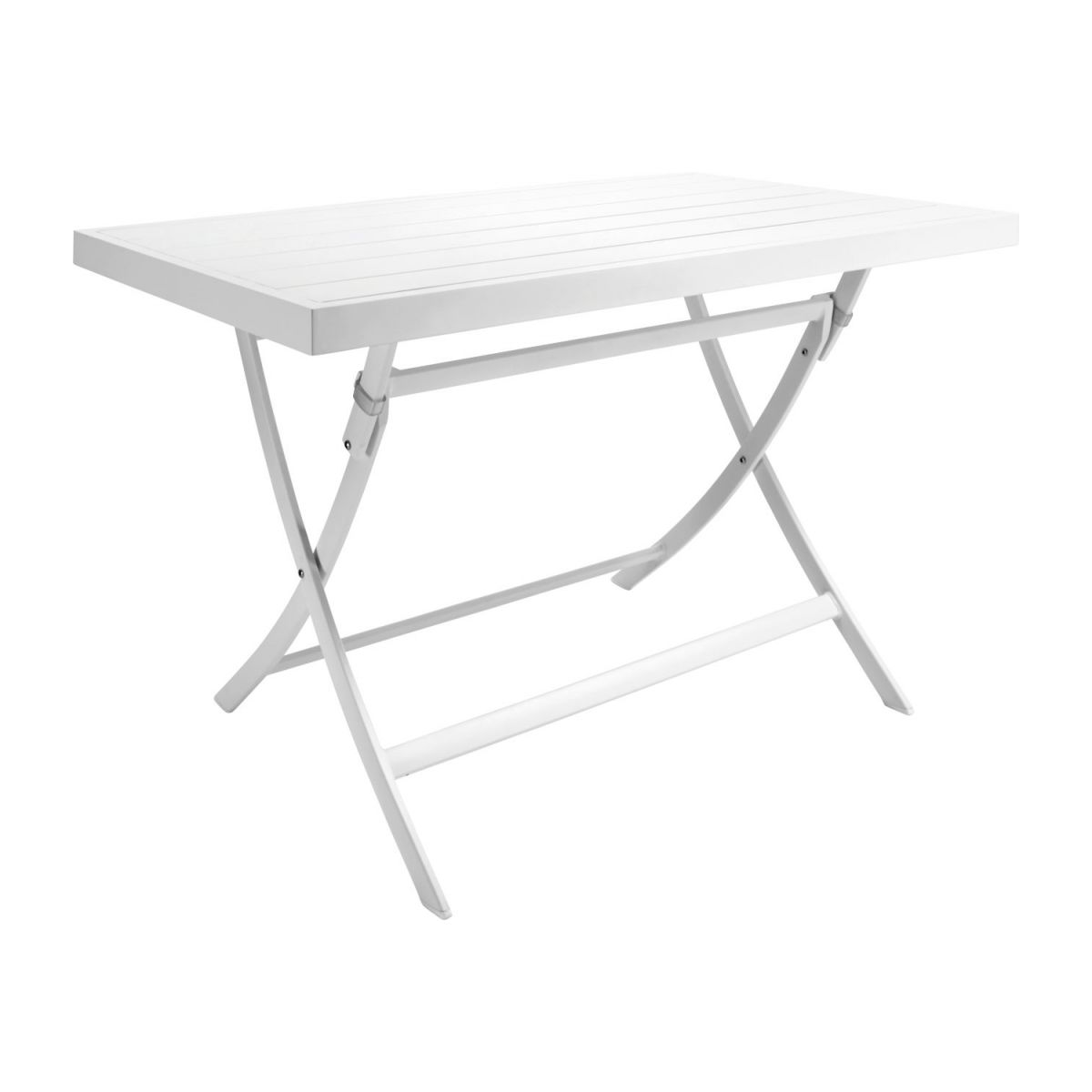 Table rectangulaire Blanc plateau verre Lechuza - Tables en résine ...