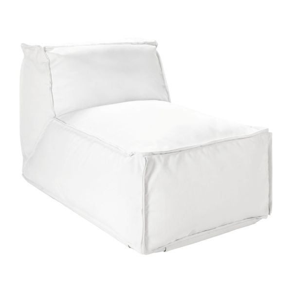 daona fauteuils de jardin blanc tissu habitat. Black Bedroom Furniture Sets. Home Design Ideas