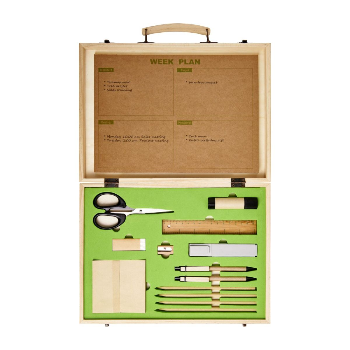 Stationery box (14 pieces) n°4