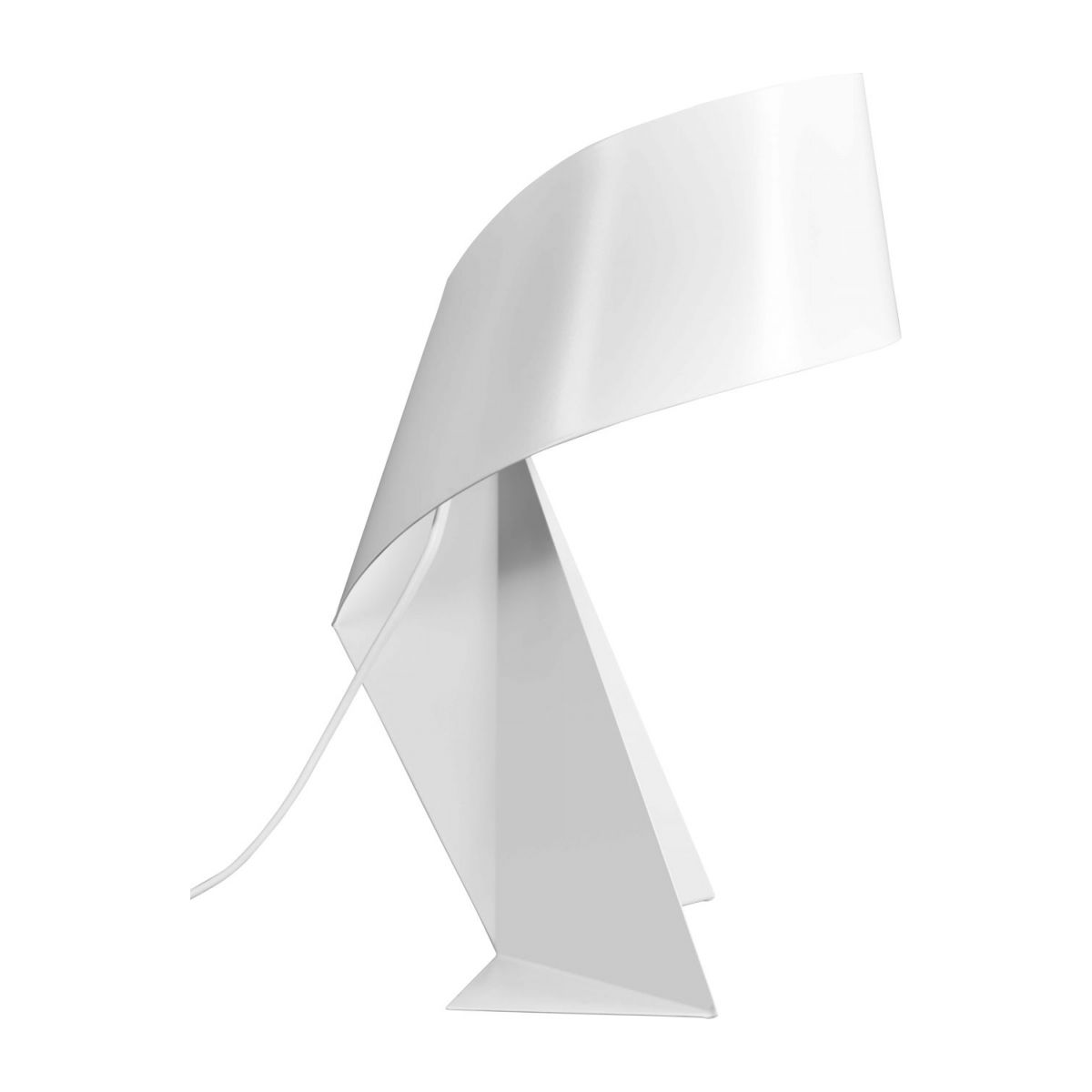 Small white table lamp  n°4