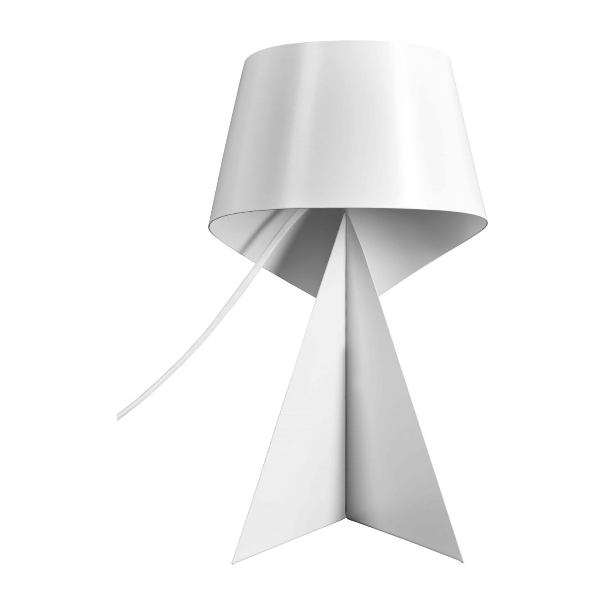 Small white table lamp  n°2