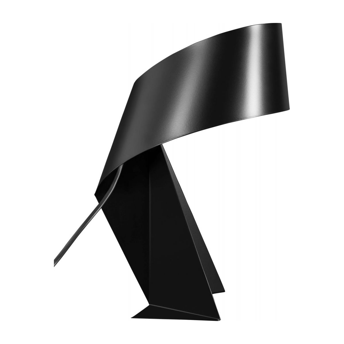 Large black table lamp n°4