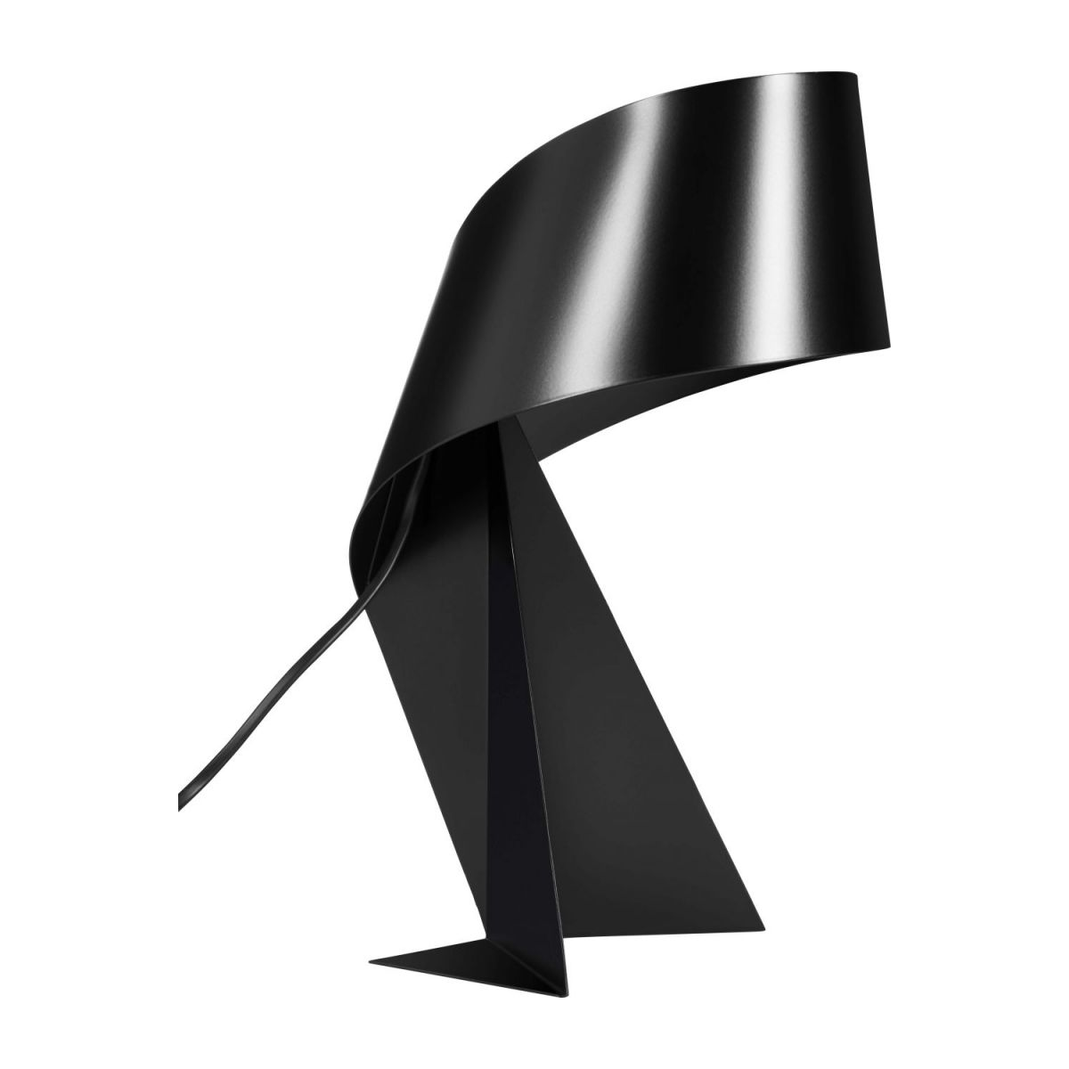 Large black table lamp n°1