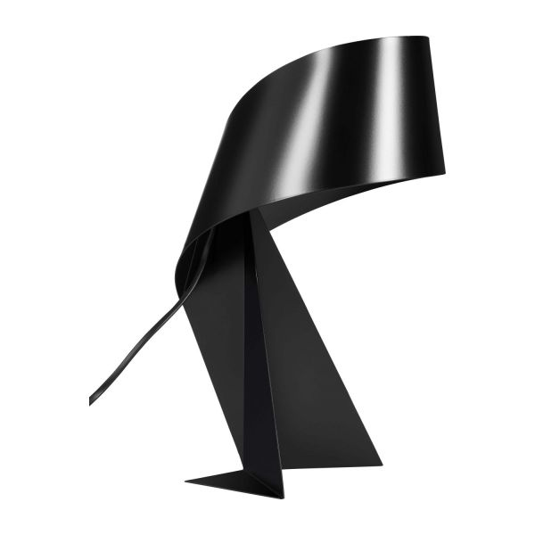ribbon lampe de table grand mod le 52cm en m tal noir habitat. Black Bedroom Furniture Sets. Home Design Ideas