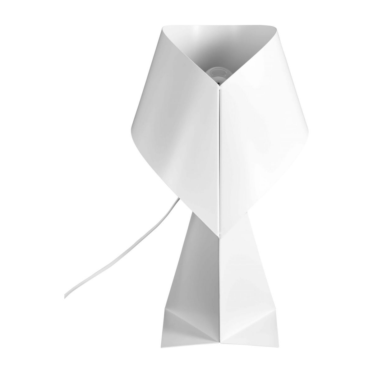 Lampe de table en métal - Blanc - 52 cm n°3