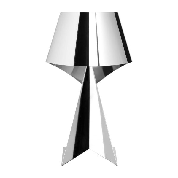 Ribbon small chrome table lamp habitat small chrome table lamp n2 aloadofball Images