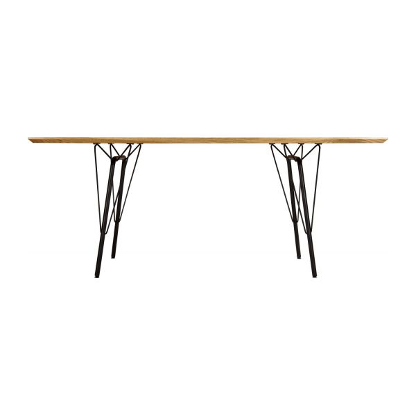 El table de salle manger habitat for Table filaire