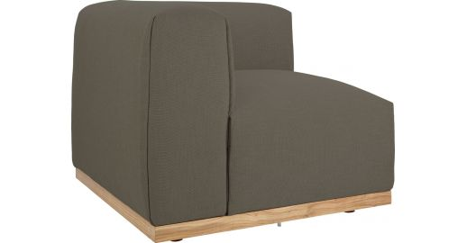 Panorama canap s canap d 39 angle chauffeuse gris tissu - Chauffeuse d angle convertible ...