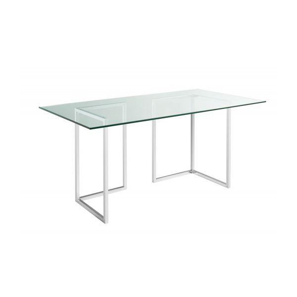 Lagon plateau de table en verre 180x80cm habitat for Plateau verre pour table