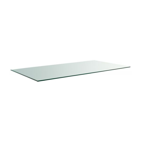 Lagon plateau de table en verre 180x80cm habitat - Plateau de table en verre ...