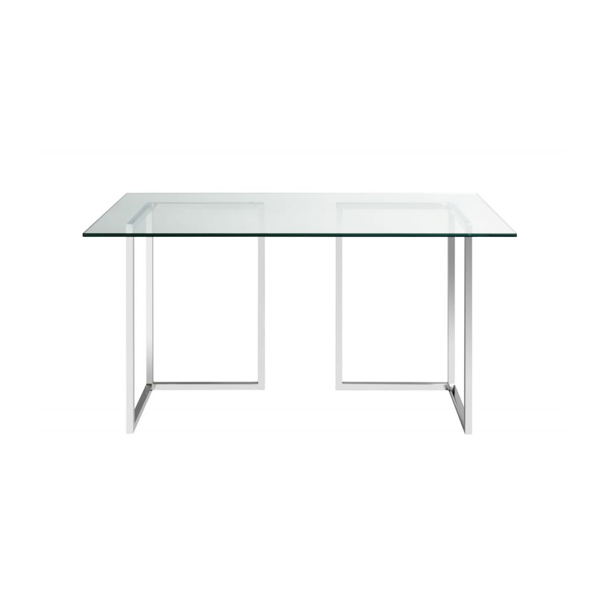 Plateau de table en verre 140x80 cm n°3
