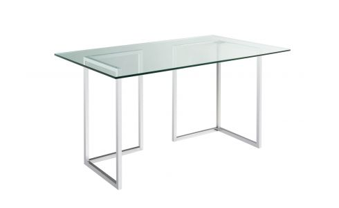 Plateau de table en verre 140x80 cm