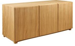 Low oak sideboard