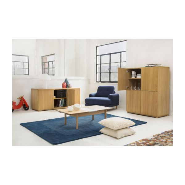 drio high oak sideboard habitat. Black Bedroom Furniture Sets. Home Design Ideas