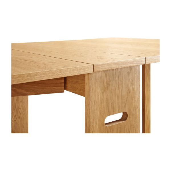 Dining room table with oak leaves n°9