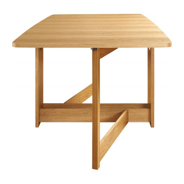 Dining room table with oak leaves n°6