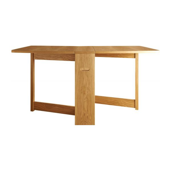 Dining room table with oak leaves n°4