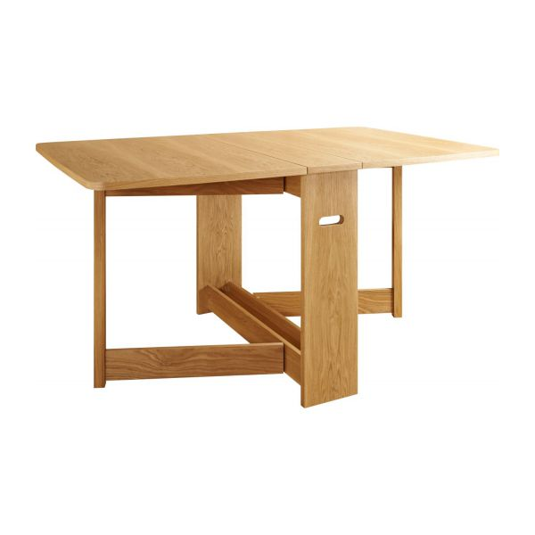 croyde tables de cuisine naturel bois habitat. Black Bedroom Furniture Sets. Home Design Ideas
