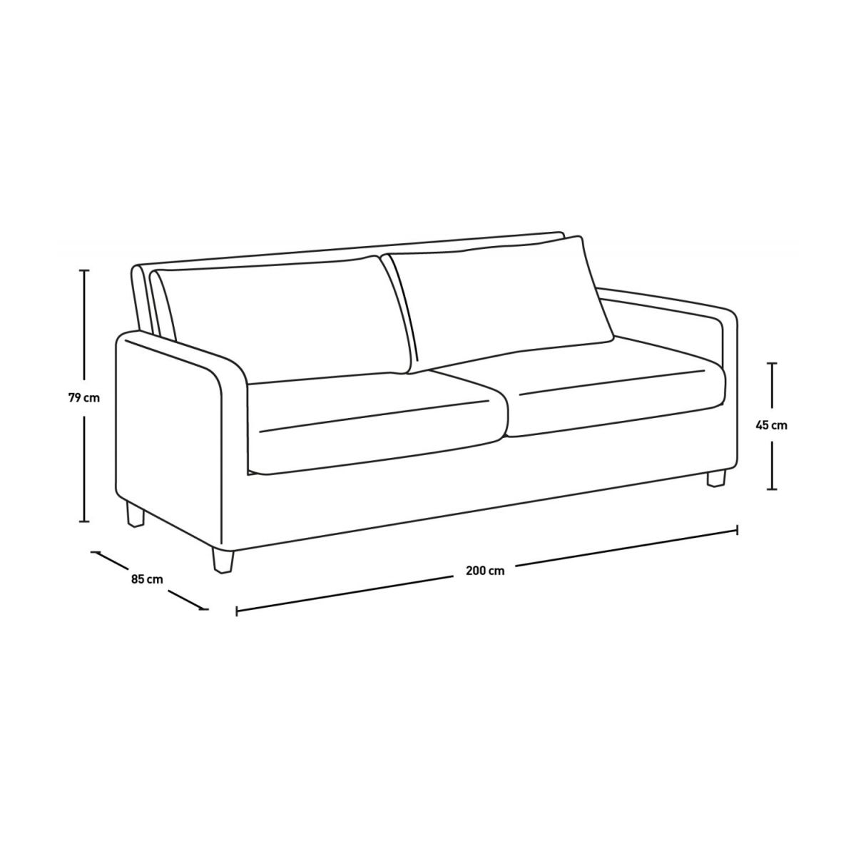 3 seat leather sofa n°7