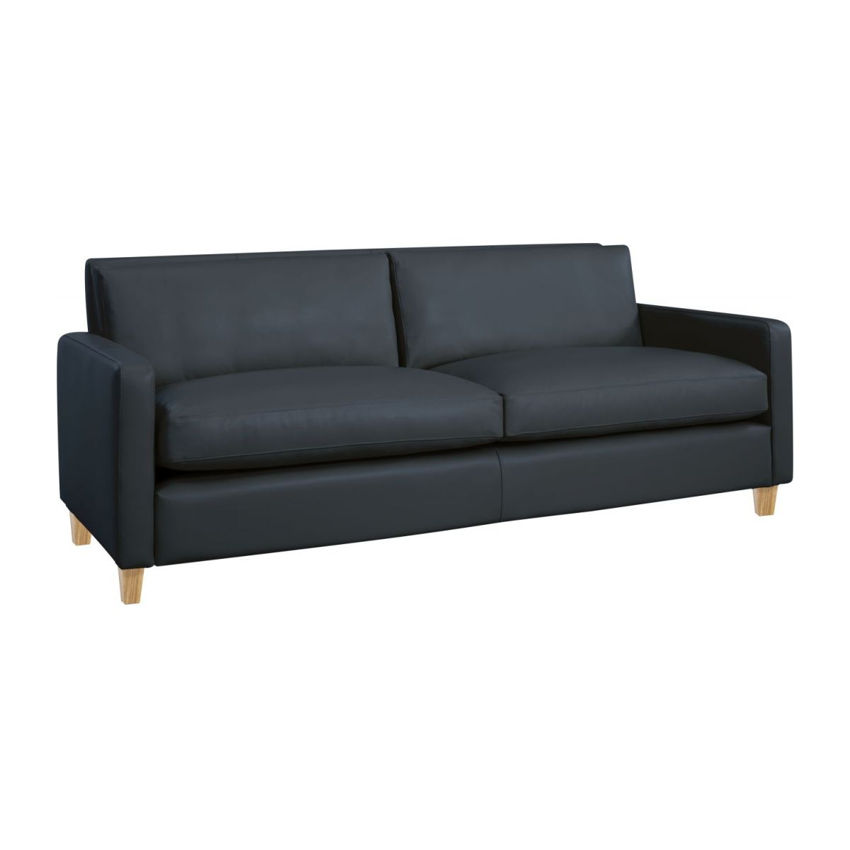 3 seat leather sofa n°1