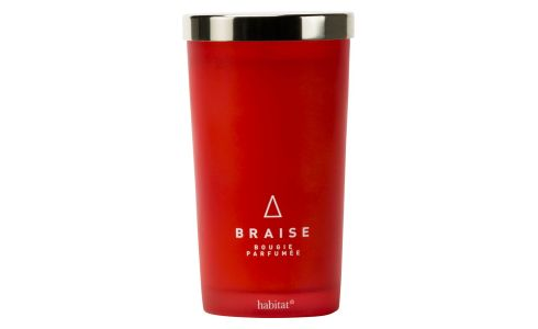 Braise large scented candle