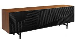 Low walnut sideboard