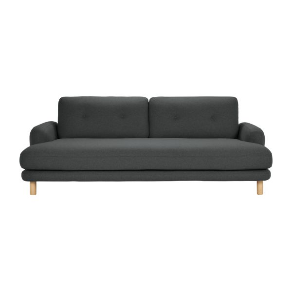 land 3 sitzer sofa mit bezug aus wollfilz habitat. Black Bedroom Furniture Sets. Home Design Ideas