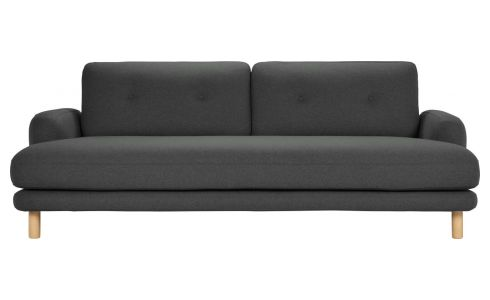 3-seater sofa in wool felt