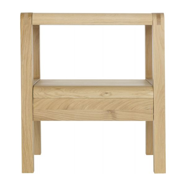 RADUS Tables de chevet Naturel Bois - Habitat