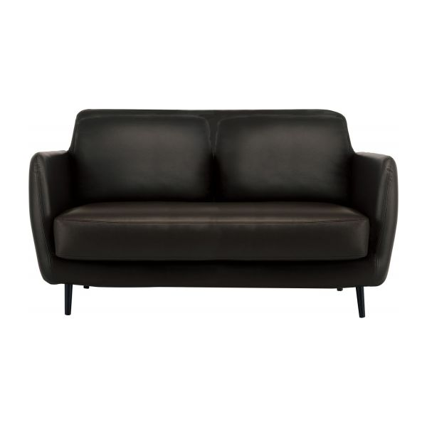 2 seat leather sofa chester sofas 2 seat sofa black leather habitat thesofa. Black Bedroom Furniture Sets. Home Design Ideas