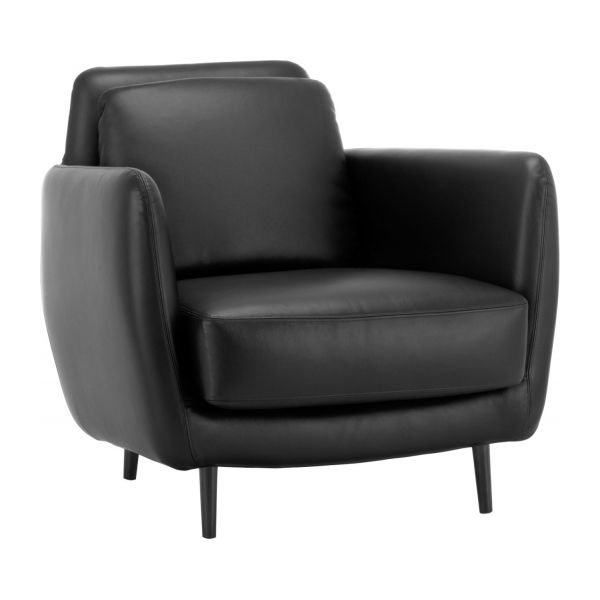 Leather Armchair N°1