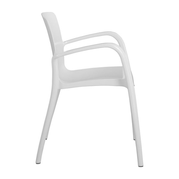 tallow chaises de salle manger blanc plastique habitat. Black Bedroom Furniture Sets. Home Design Ideas