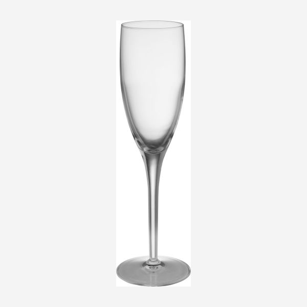 Champagne flutes x 6