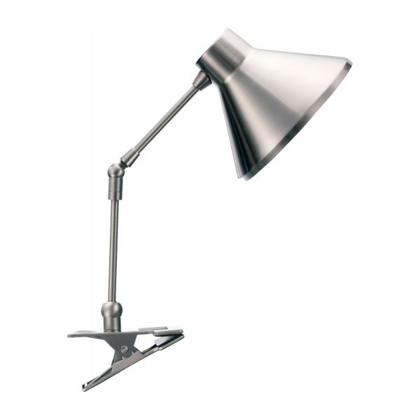 Bobby office lamps silvery metal habitat desk lamp with clamp n1 publicscrutiny Image collections