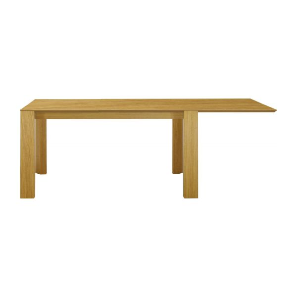 Icon tables de salle manger naturel bois habitat for Table de salle a manger habitat