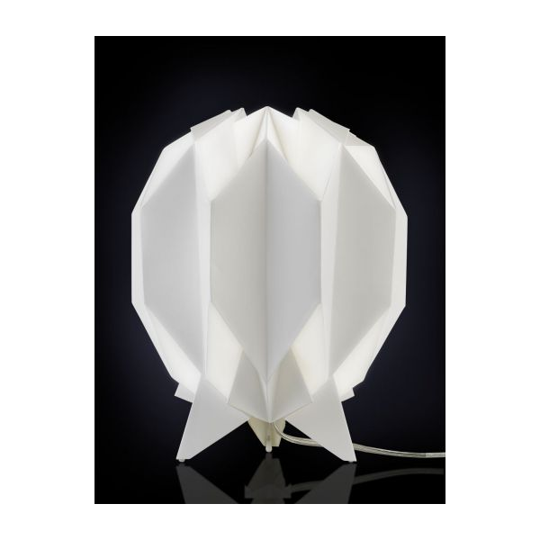 kura lampes de table blanc bois papier habitat. Black Bedroom Furniture Sets. Home Design Ideas