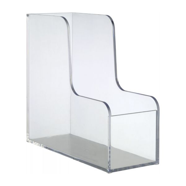 palaset accessoires de bureau transparent acrylique plastique habitat. Black Bedroom Furniture Sets. Home Design Ideas