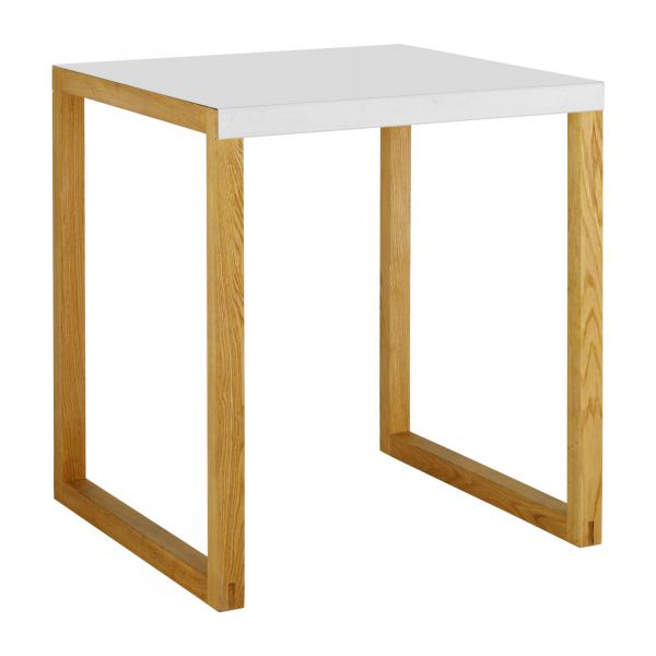 KILO Dining room tables White Wood Metal - Habitat