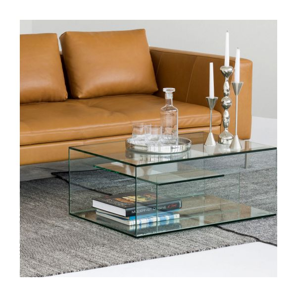 gem coffee tables transparent glass metal habitat. Black Bedroom Furniture Sets. Home Design Ideas