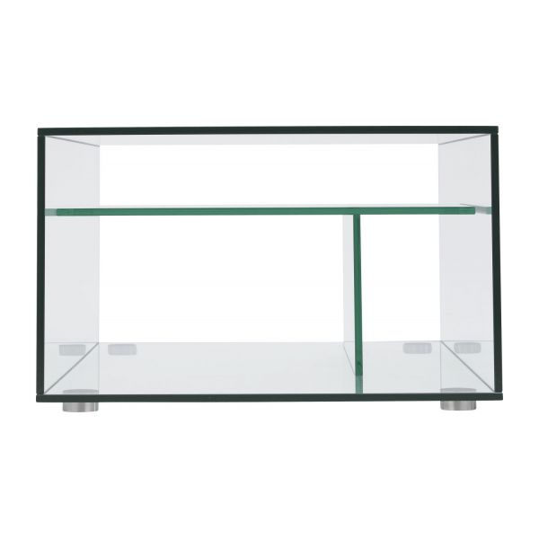 Gem tables basses transparent verre m tal habitat - Table basse en verre habitat ...