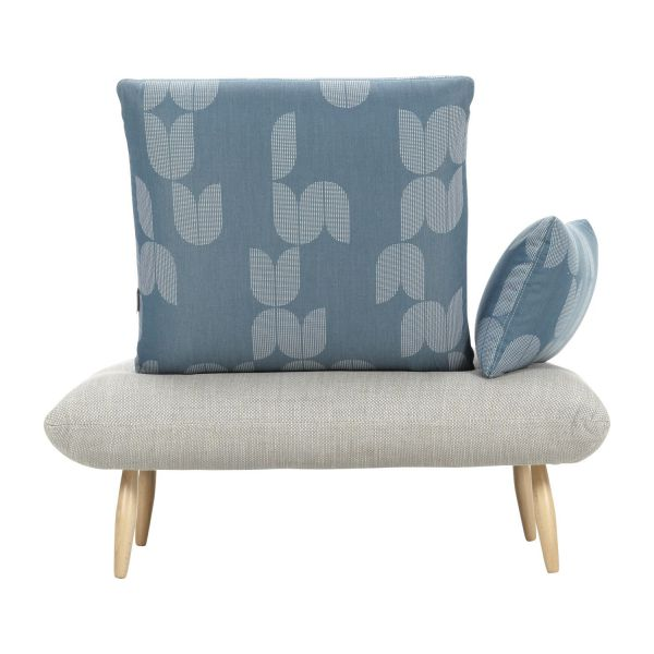 Elegant Fabric Armchair N°7