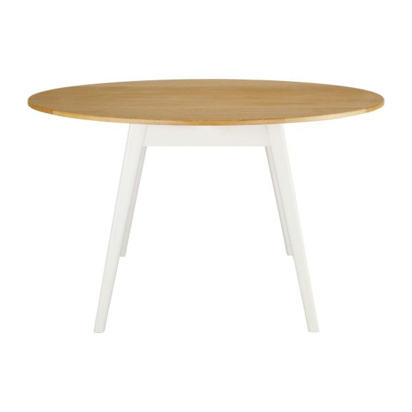Harrison table de salle manger extensible habitat for Table de cuisine habitat