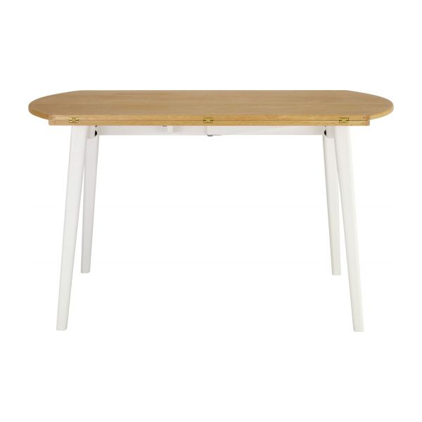 Harrison table de salle manger extensible habitat for Table de salle manger extensible